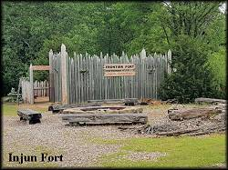 The Iowa Territory Injun Fort